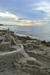 Sandcastle by the Baltic