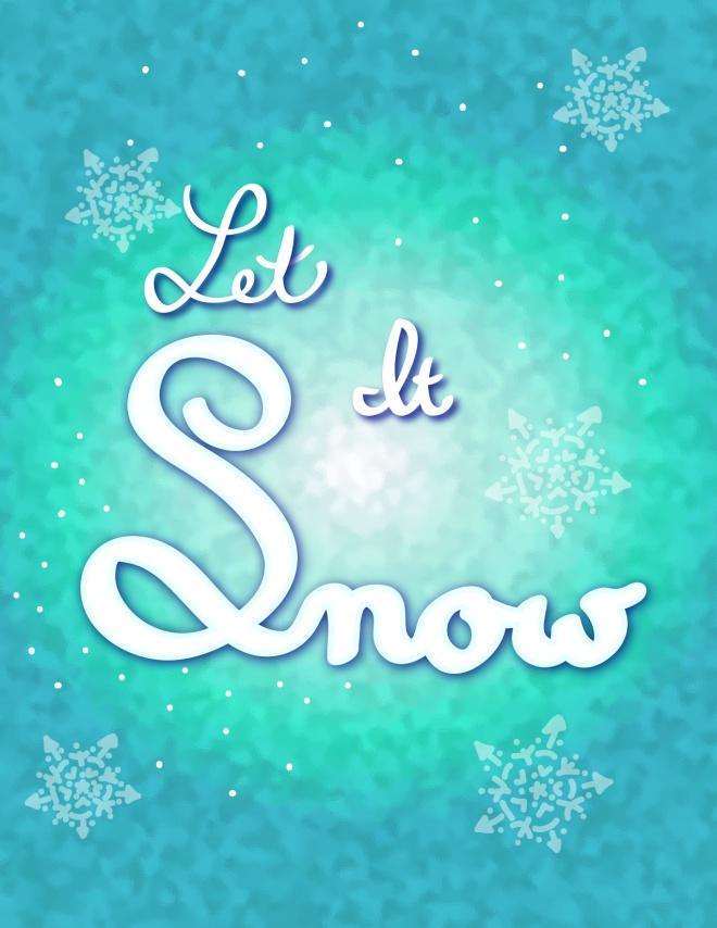 Let It Snow doodle-01